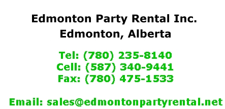 Edmonton Party Rental Inc.