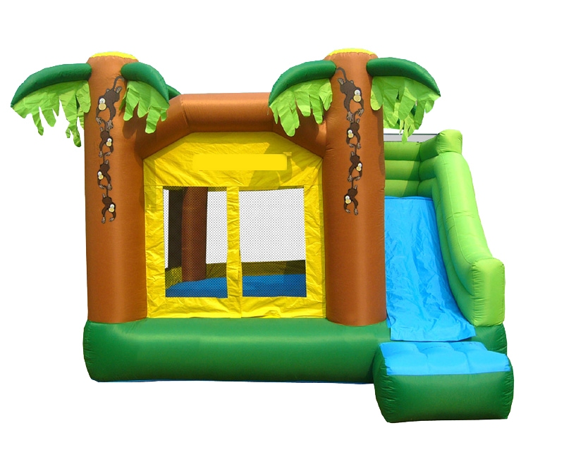 Jungle Bouncer With Slide