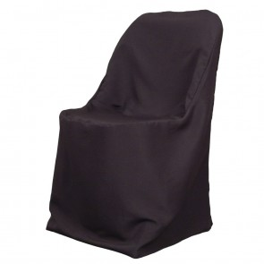 Polyester Folding Chair Cover-Black