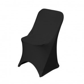 Stretch Folding Chair Cover-black